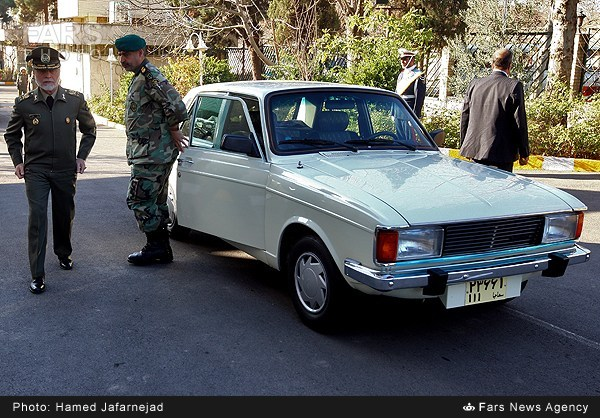 خودروی فرمانده ارتش