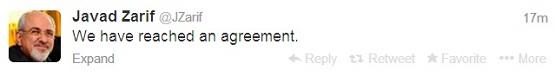 ظریف: به توافق رسیدیم/ حق غنیسازی به رسمیت شناخته شد