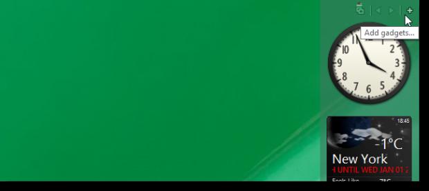 چگونه گجت های کاربردی ویندوز 7 را در ویندوز 8 زنده کنیم؟