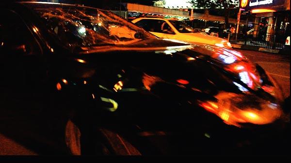کامیون نخاله سیزده خودرو را زیر گرفت و راننده هنگام فرار بازداشت شد