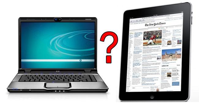 آیا تبلت میتواند جایگزین لپتاپ برای شما باشد؟ یک پاسخ کوتاه