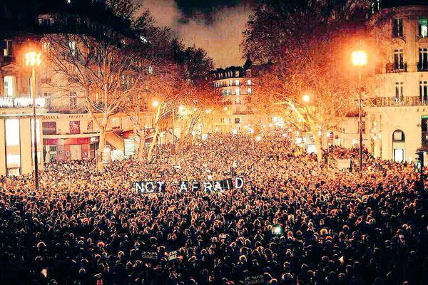 واکنش جهانی کارتونیستها به حوادث فرانسه