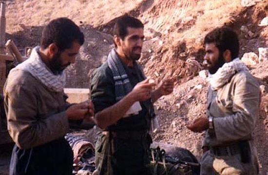 سپاه بدر دیروز در کربلای 5 و امروز در آمرلی +فیلم
