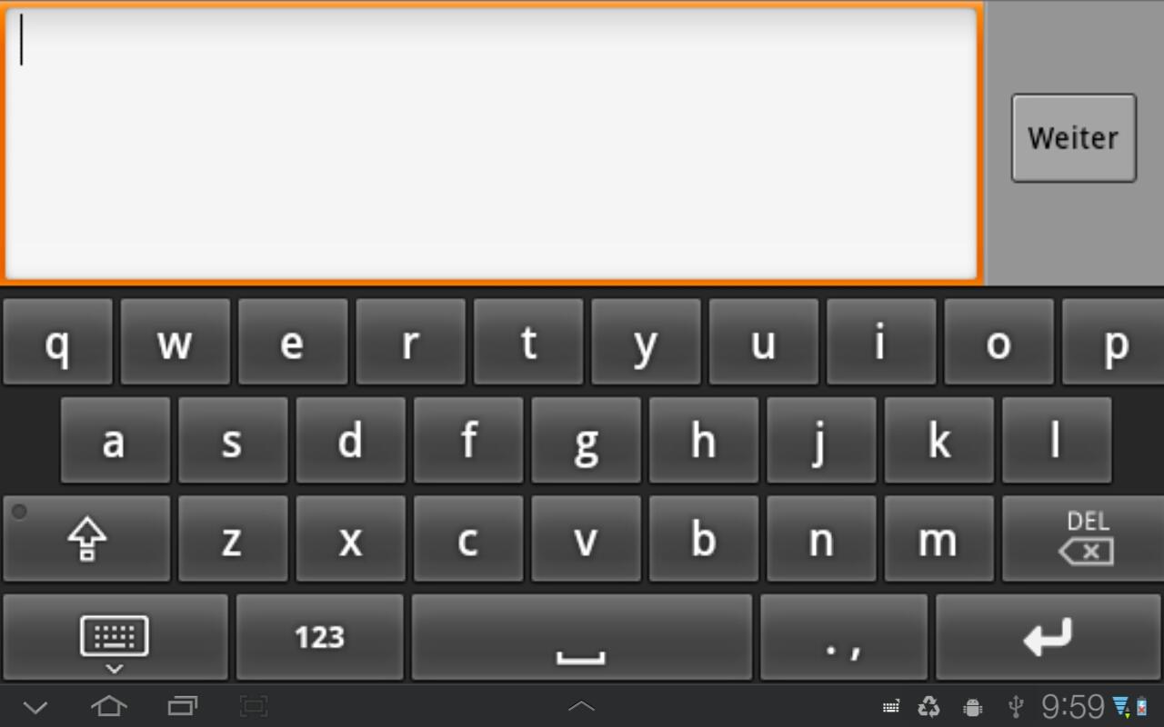 اضافه کردن ردیف اعداد به بالای صفحه کلید اندروید