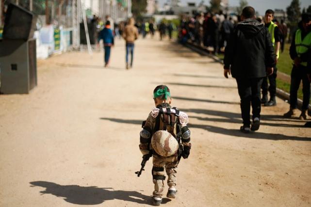 کمپ های آموزشی حماس + عکس