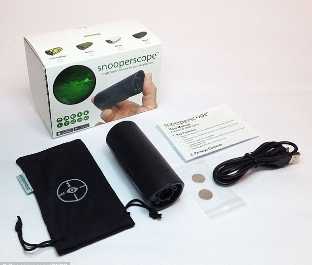دوربین دید در شب مخصوص تلفن همراه