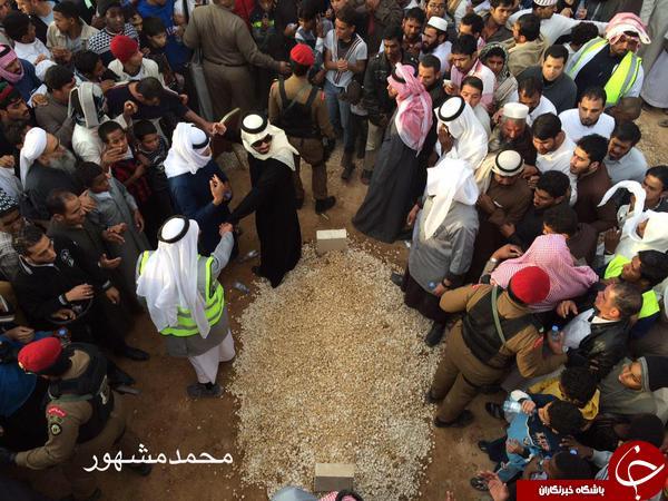 تصاویر محل دفن «ملک عبدالله» منتشر شد