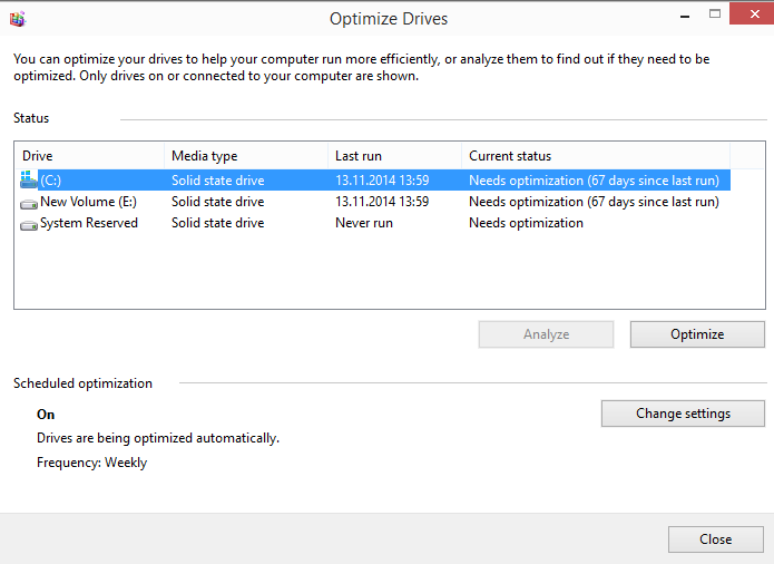آیا باید حافظه های SSD را Defrag کرد؟
