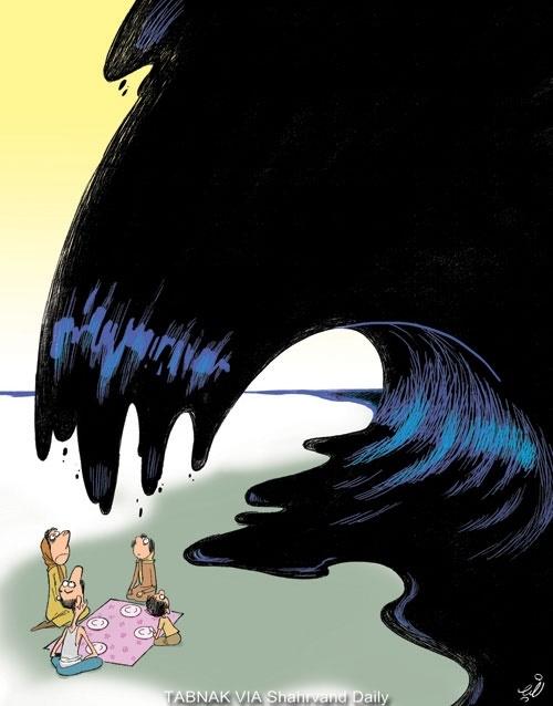 کاریکاتور/ سفره در انتظار نفت!