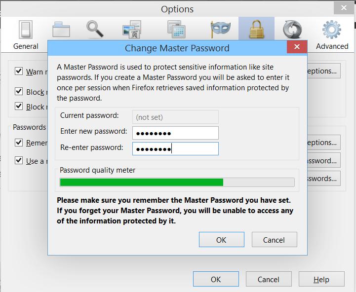 چگونه در فایرفاکس یک Master Password ایجاد کنیم؟