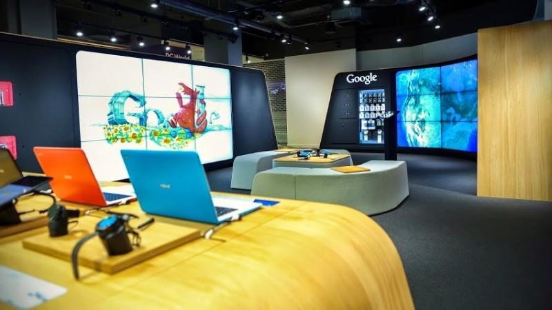 اکنون گوگل یک فروشگاه واقعی نیز دارد