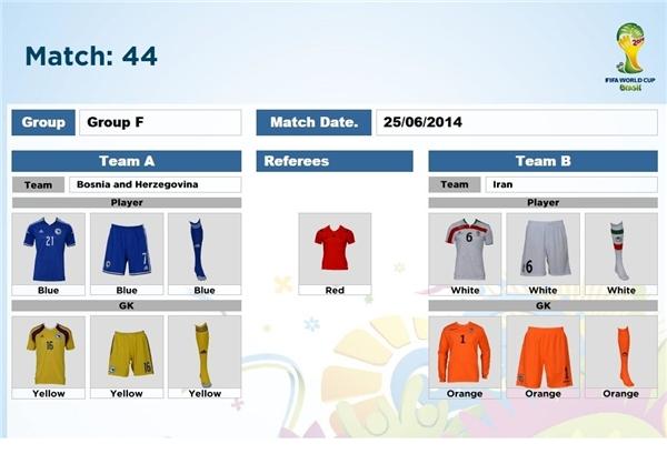 رنگ پیراهن تیم ملی در جام جهانی مشخص شد