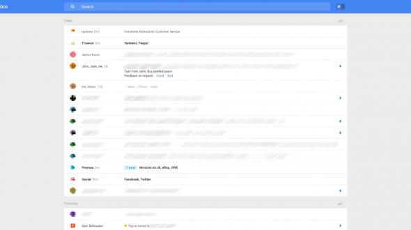 تصاویر افشا شده از تلاش گوگل برای تغییرات آینده در جی میل
