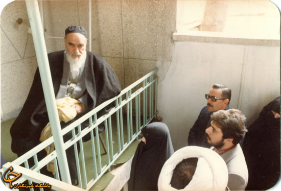 عکس دیده نشده امام خمینی (ره)