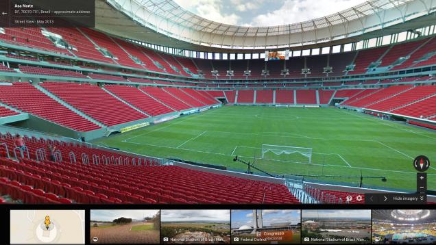 با ابتکار گوگل استادیومهای و خیابانهای جام جهانی را از نزدیک ببینید