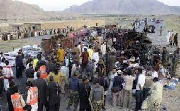 حمله تروریستی به کاروان زائران مرقد امام(ره)، ۲۳ کشته بر جای گذاشت