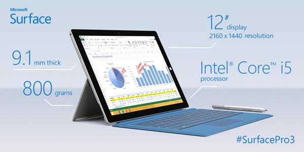 نگاهی از نزدیک به غول جدید مایکروسافت؛ Surface pro 3 + فیلم