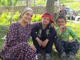 عکسهای مهناز افشار در تاجیکستان