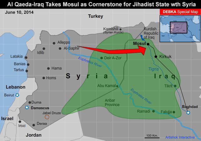 تکفیریها تا تشکیل دولت در عراق و سوریه چقدر فاصله دارند؟