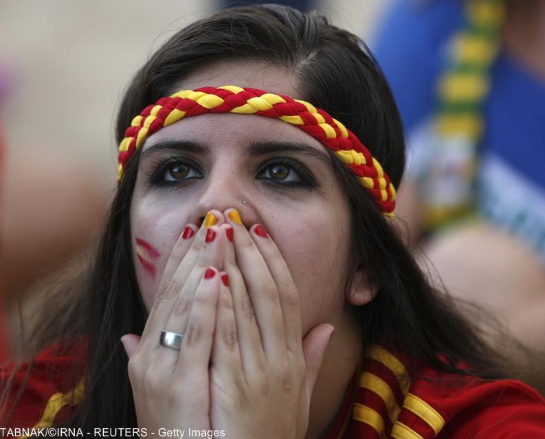 واکنش های دیدنی هنگام تماشای جام جهانی