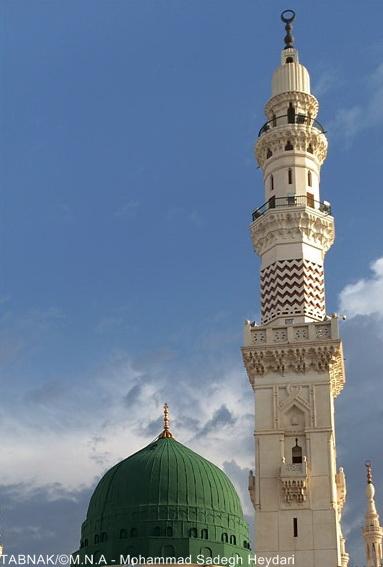 نتیجه تصویری برای مسجد النبی + تابناک