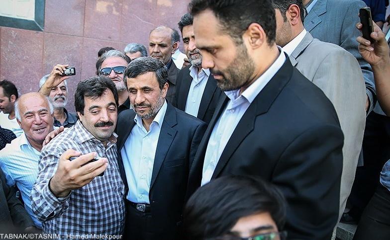 احمدی نژاد,علیرضا سلیمانی