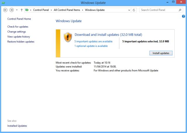 پنج نکته مهم ابتدایی در مدیریت امنیتی ویندوز 8 و 8.1