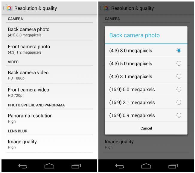 نسخه جدید Google Camera با Panorama، تایمر و Aspect Ratio