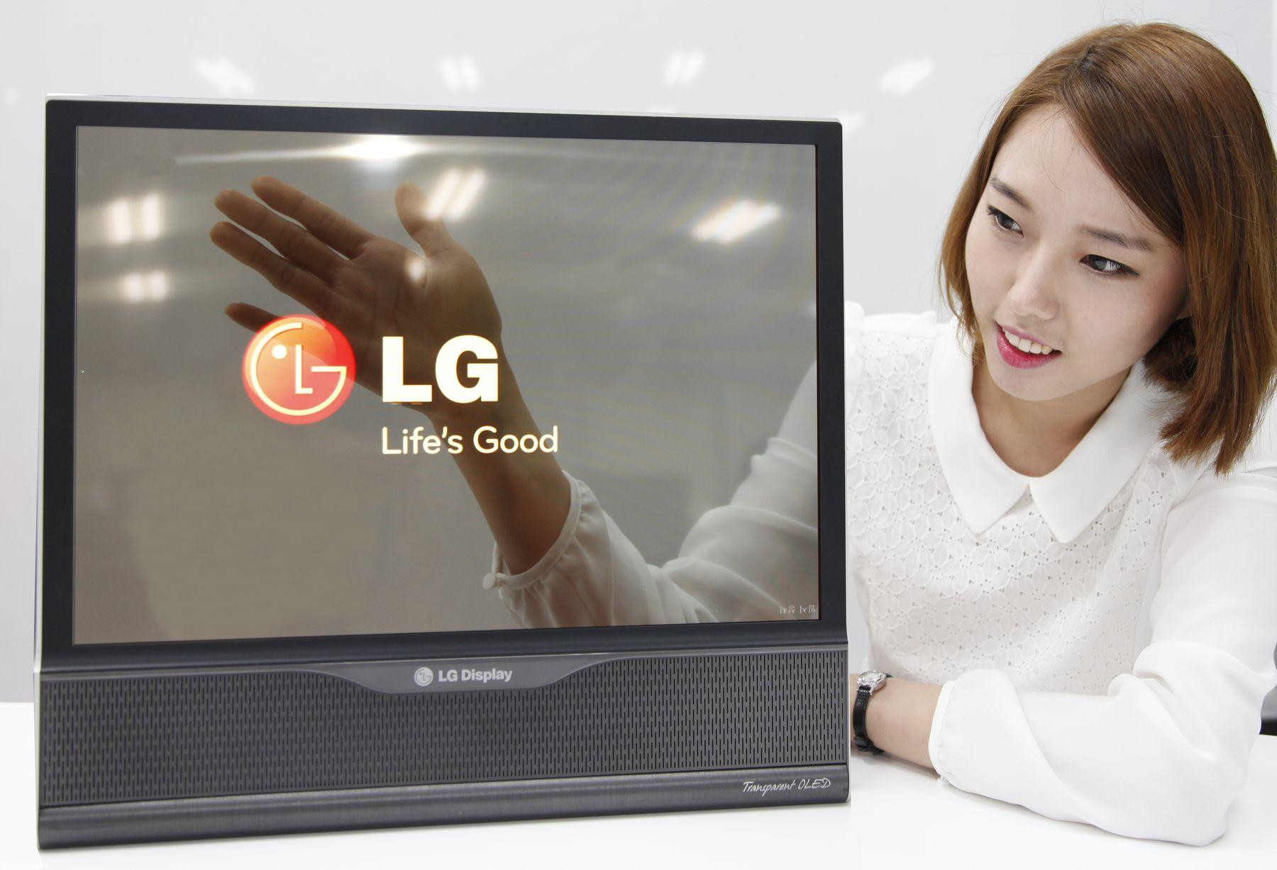 صفحه نمایش 1 میلیون مگاپیکسلی LG لوله میشود! + تصاویر