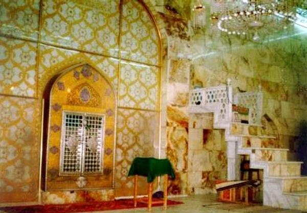 محل ضربت خوردن حضرت علی علیه السلام