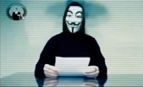 اعلان جنگ گروه Anonymous علیه حامیان تروریستهای تکفیری