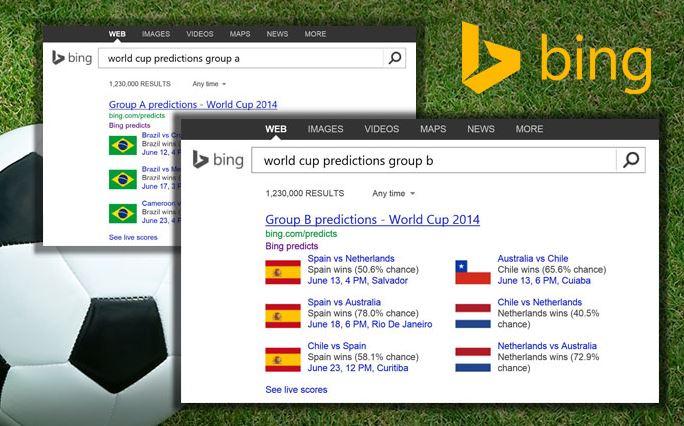 مایکروسافت هم به جمع پیش گوهای جام جهانی پیوست!