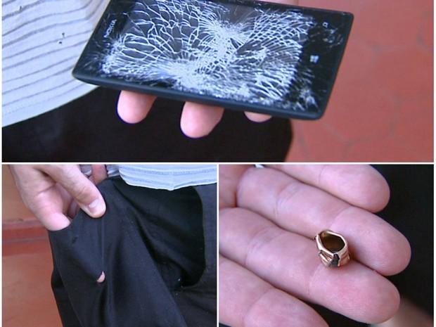 گوشی های هوشمندی که جلوی گلوله ها را میگیرند!