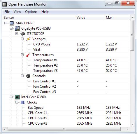 سه نرمافزار برای رصد و کنترل حرارت سخت افزارها