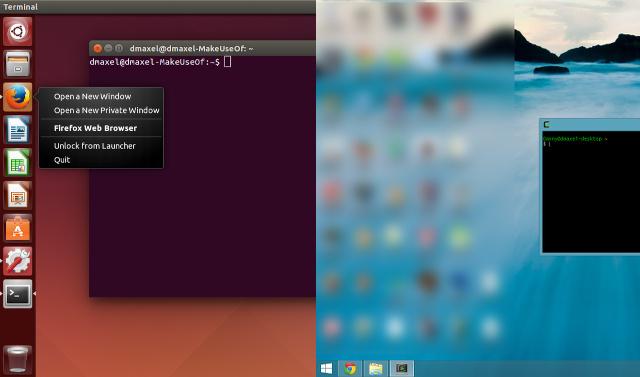 مقایسه Unity لینوکس اوبونتو با Modern UI ویندوز 8