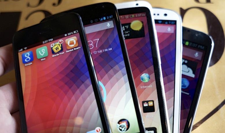 با تکنولوژی صفحه نمایش گوشی هوشمند خود بیشتر آشنا شوید