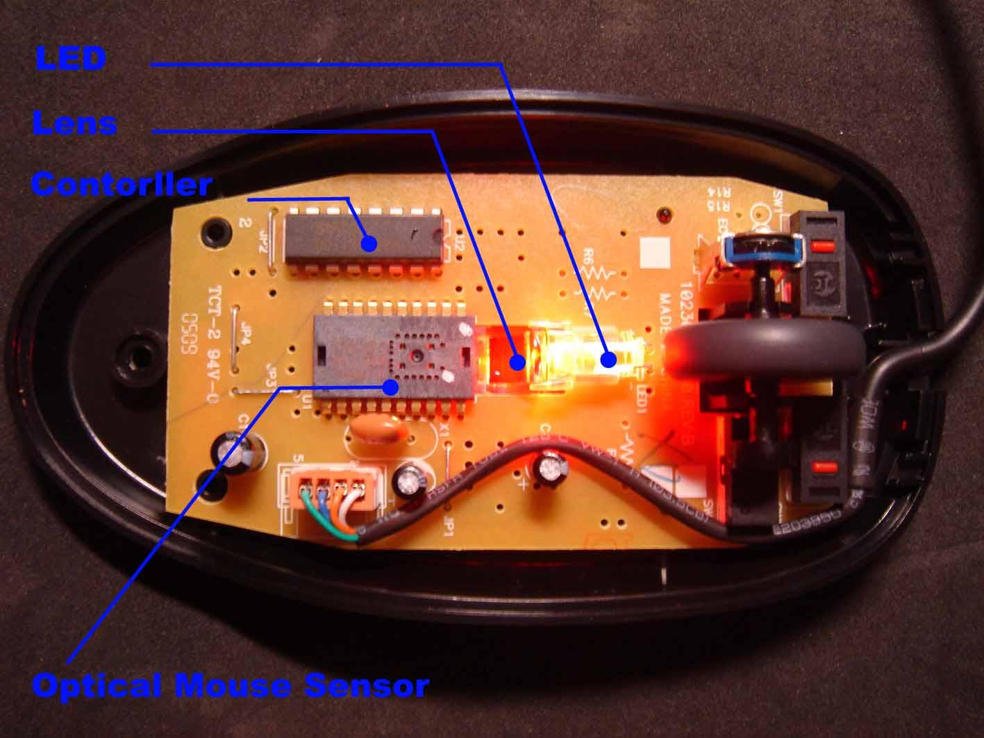 تفاوت ماوس های اپتیکال و لیزر در چیست؟