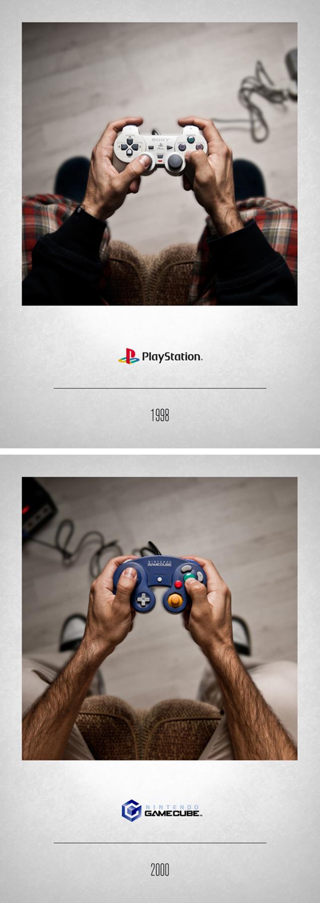 تاریخ تحول کنترلر کنسولهای بازی در 16 تصویر