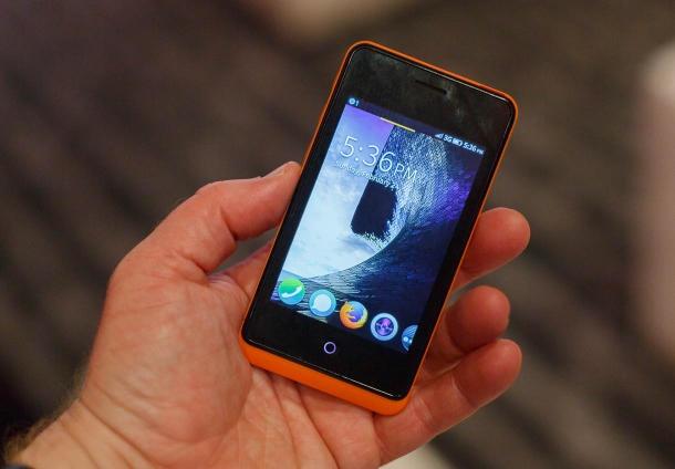 اولین گوشی هوشمند با سیستم عامل فایرفاکس