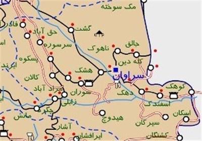 در هم شکستن حمله تروریستهای مسلح به پاسگاه مرزی در سراوان - تابناک | TABNAK