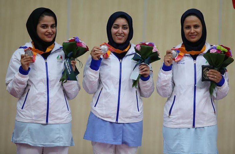 شروع توفانی زنان تیرانداز ایرانی با یک طلا و دو نقره