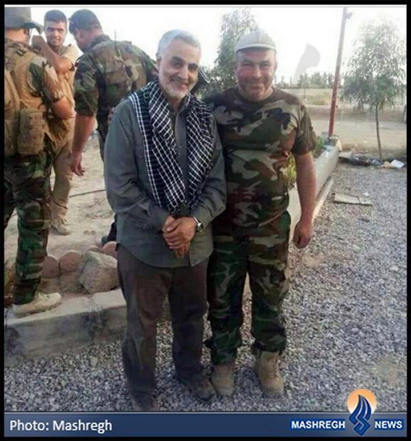 تازه ترین عکس حاج قاسم و مجاهدان عراقی