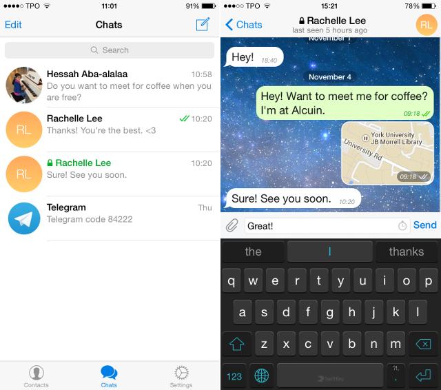 با Telegram؛ جایگزین برتر وایبر و واتس اپ آشنا شوید