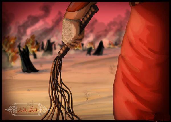 چگونه جگرگوشه امام حسین در غم دوری پدر، جان داد؟