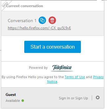 اکنون در فایرفاکس 34 میتوانید با دوستان خود مستقیما Chat کنید