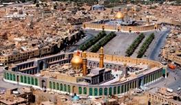 مرقد امام حسین، از اولین بنا به دست مختار
