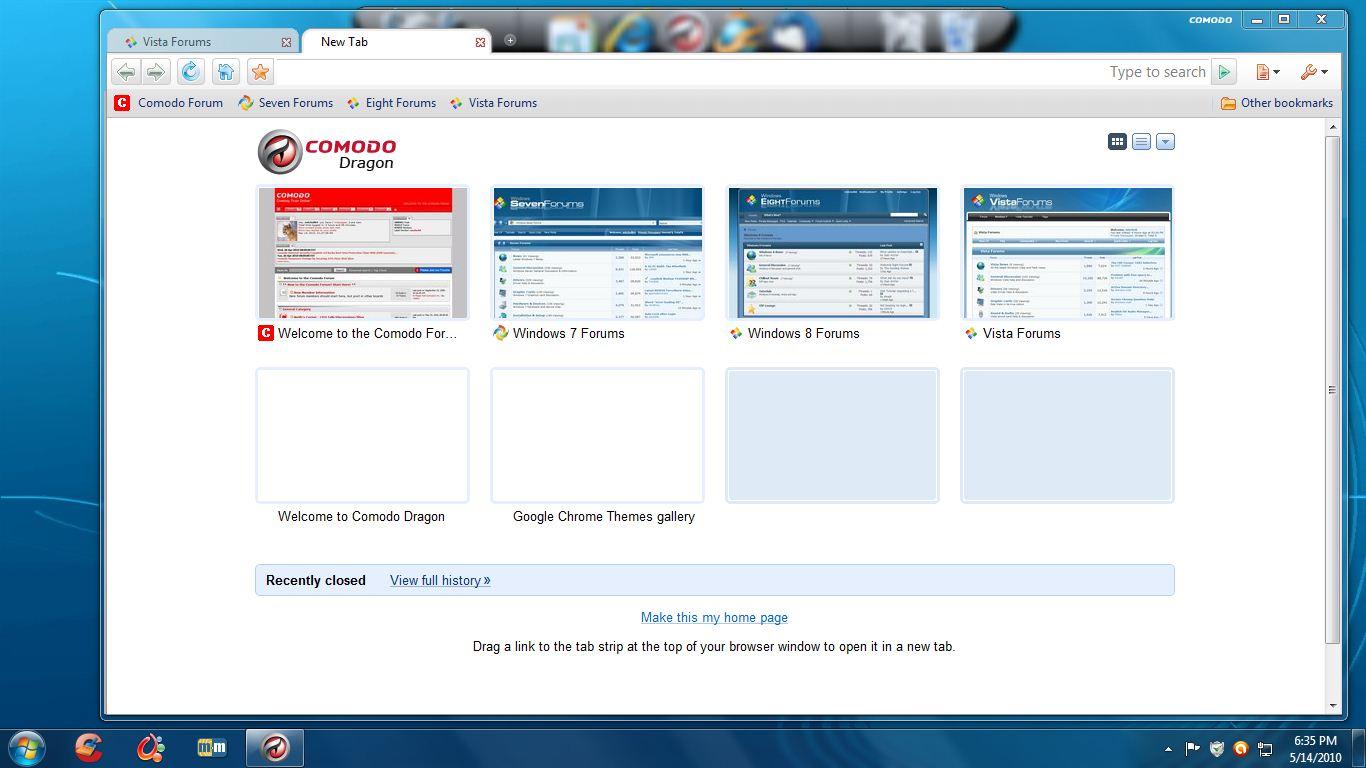 با این سه مرورگر امن از Comodo وب گردی کنید