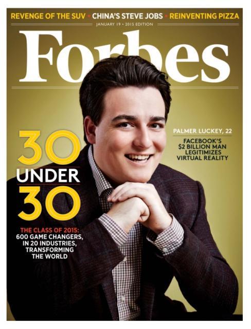 جوان 22 ساله ای که فیسبوک شرکتش را 2 میلیارد دلار خرید