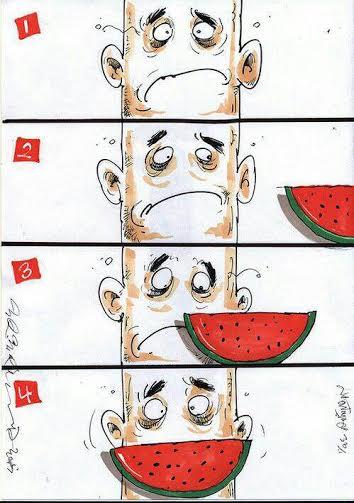 اثر پرمعنای کاریکاتوریست معروف ورزشی از شب یلدا