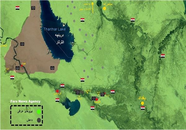 داعش آماده حمله به سامراء،کریت و بیجی